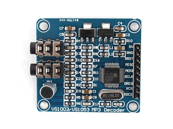 아두이노 부품사용법] VS1003 MP3 디코딩 모듈